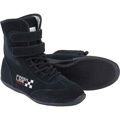 Finishline Racing Shoes High Top Leather SFI 3.3/5 Rated