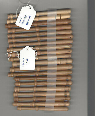 Lace Making Bobbins 20 mixed wooden, excellent condition