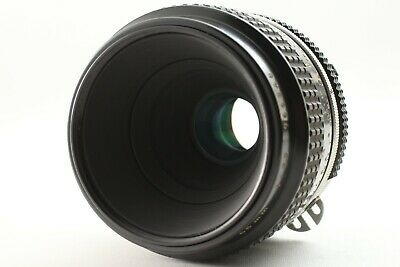 【NEAR MINT】 Nikon Ai Nikkor Micro 55mm f/3.5 MF Film Lens From Japan #081