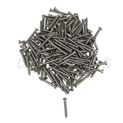 200 x M2 18MM Stainless Steel Self-Tapping Small Micro Screws for Home