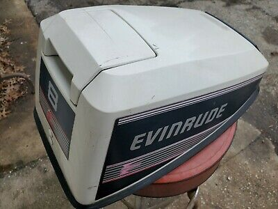 Evinrude Johnson 8 Hp Cowl Engine Cover Clean