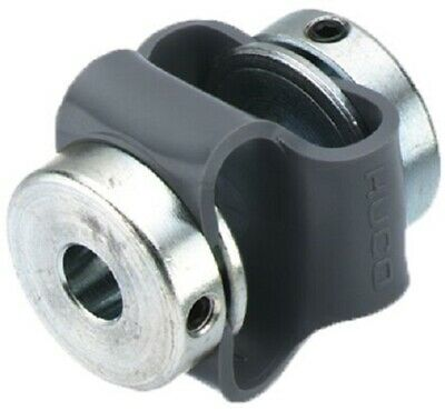 Huco DOUBLE LOOP COUPLING 27mm 0.5Nm 10° Angular- 3mm Or 4mm