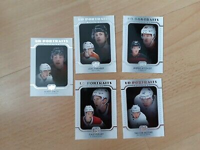 Lot 5 Cards UD Portraits ROOKIES Upper Deck 2019-20 series 2 Hockey Dach etc