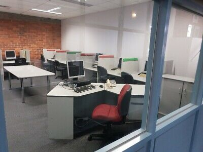 Booths for call centre or office
