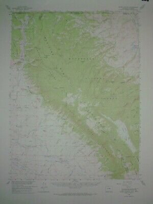 3 USGS Topographic Maps 15 minute from northern Colorado with railroads 1955-56