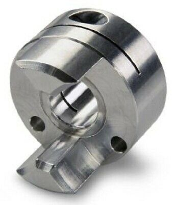 Ruland CURVED JAW COUPLING 27.2x19.1mm Aluminium, Clamp Fastening - 4mm Or 5mm