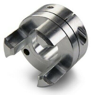 Ruland CURVED JAW COUPLING 61x50.8mm Aluminium, Clamp Fastening - 20mm Or 25mm