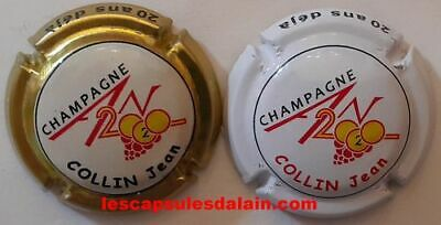 2 Belles Capsules Champagne Collin Jean An 2020 20 Ans Deja News