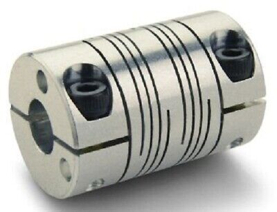 Ruland SIX BEAM COUPLING 57.2x38.1mm Aluminium, Clamping- 12x12mm Or 14x10mm