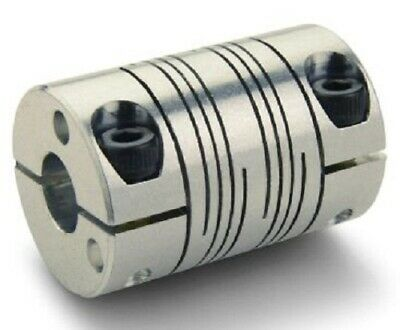 Ruland SIX BEAM COUPLING 57.2x38.1mm Aluminium, Clamping- 14x14mm Or 15x12mm