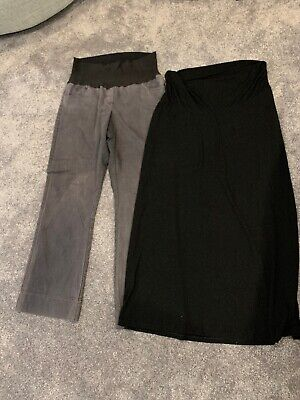 Maternity Pants And Long Skirt - Size 12/ M - Target/ Old Navy