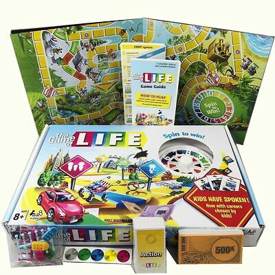 Family Party Board Game The Game of Life Fun play With Children Kids Toy Gift