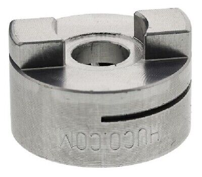 Huco OLDHAM COUPLING 25.4mm Outside Diameter, Clamp Style- 8mm Or 9.525mm