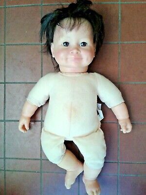 Baby So Real Doll  Irwin Toy 2007 Brunette 44 cm