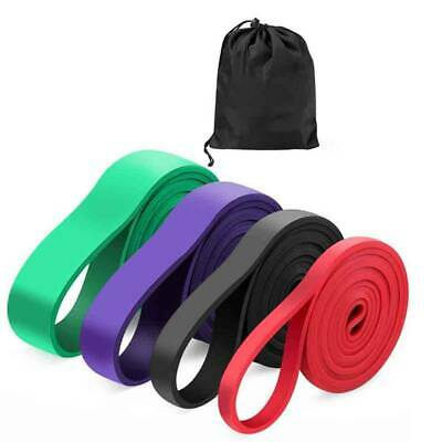 Resistance Bands Exercise Loop Pull Up Workout Set Women Fitness Glutes Pilates@