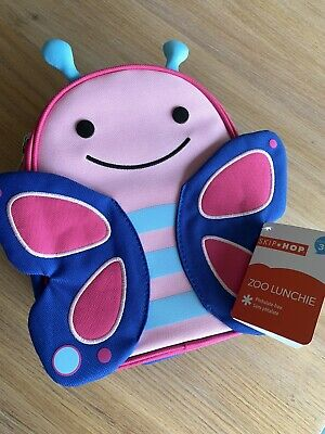 Skip Hop Lunchies Butterfly BNWT Insulated Lunch Snack Kids Baby  Bag