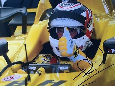 Signed Formula One Photograph Of Nigel Mansell