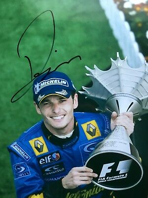 Signed Formula One Photograph Giancarlo Fisichella