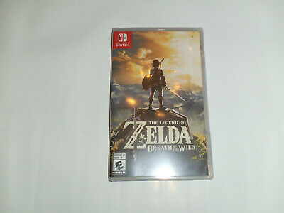 The Legend Of Zelda: Breath Of The Wild (Nintendo Switch, 2017) *Factory Sealed*