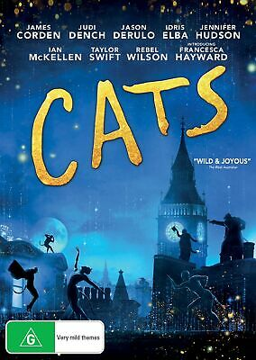 Cats DVD Region 4 NEW // PRE-ORDER for 29/04/2020