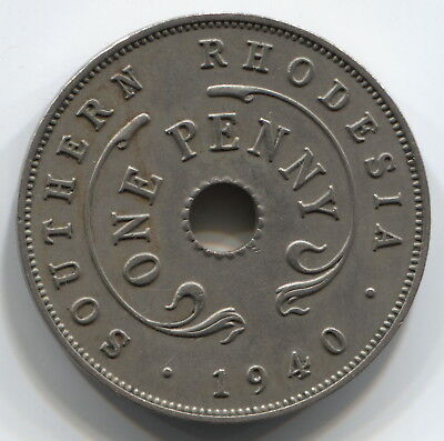 British Southern Rhodesia - Penny 1940