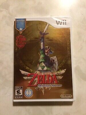 The Legend of Zelda: Skyward Sword W/ Music CD (Nintendo Wii, 2011) Brand New
