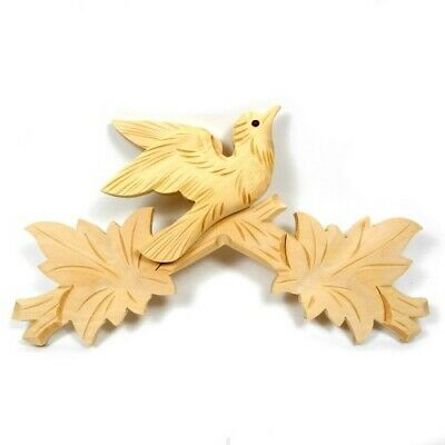 Cuckoo Clock Top Head Dressing Replacement for Clocks 245mm Wooden - CC22