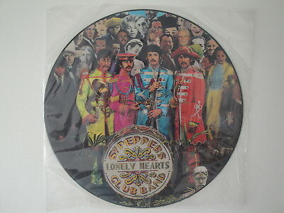 The Beatles: Sgt. Pepper's Lonely Hearts Club Band Picture Vinyl LP 1978