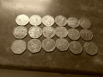 The Fifty Pence 50p Guide 2020! Kew, Christmas, Viking And Coloured 50ps! 1st Ed