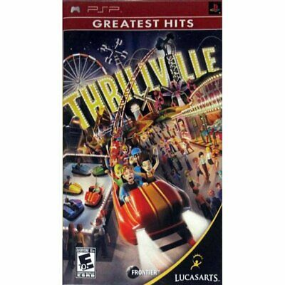 Thrillville  ( PSP Sony Playstation Portable ) Tested!!
