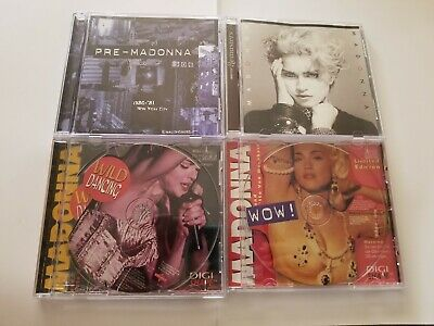 Madonna - Pre-Madonna/Early Years CD lot - Early tracks,demos and more