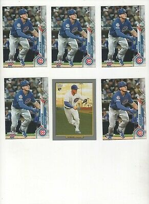 (6) 2020 Topps Series 1/OD/Turkey Red  NICO HOERNER ROOKIES-Hot CUBS Prospect