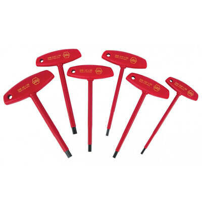 Wiha 33490 Insulated T-Handle Hex Inch Set ( 6 Pieces)