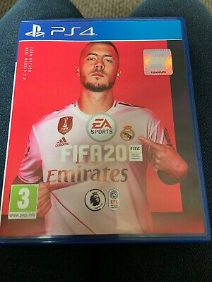 PLAYSTATION 4 FIFA 20 excellent condition best game ever