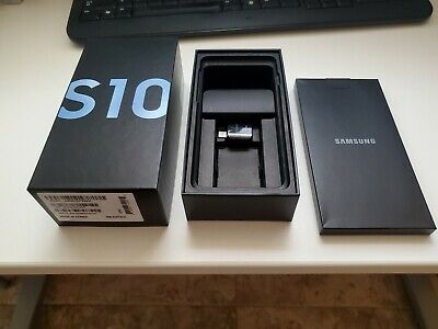 Samsung Galaxy S10 SM-G973U - 128GB - Prism Blue (Unlocked) - BOX ONLY