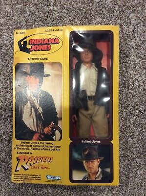 """1981 Kenner Indiana Jones Raiders of the Lost Ark 12"""" Action Figure in box"""