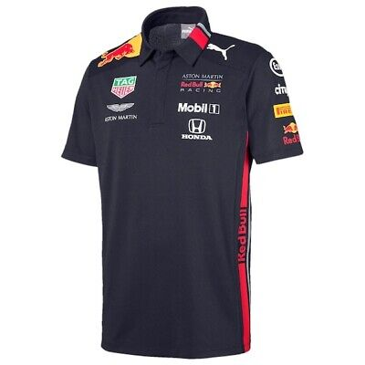 Brand New Aston Martin Red Bull Racing 2019 Team Polo - XL