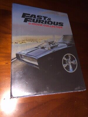 Unopened Fast & Furious 8-movie collection DVD