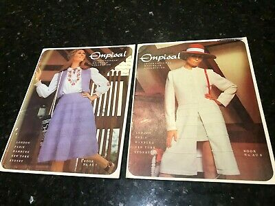 Empisal International Knitwear Collection-Books-AU 7 & AU 8-Two Books-Will Sell.