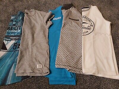 Boys Bundle T-shirts / Tops. Age 9-10 Years. Some BNWOT