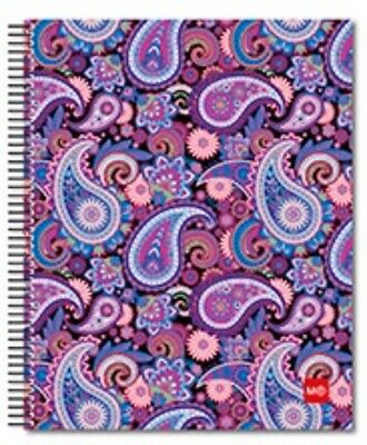 Miquelrius Paisley 4-subject College Rule Notebook 6.5x8