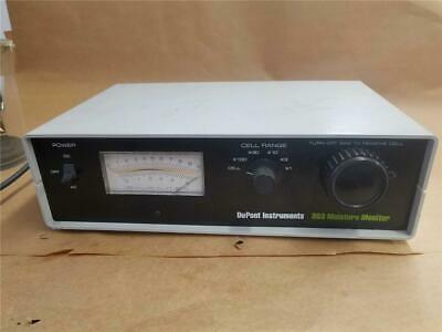 Dupont Instruments 303 Moisture Monitor Model 303101-902 Tested And Working