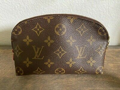 Authentic LV Louis Vuitton Classic Monogram Cosmetic Pouch / Make-up Bag