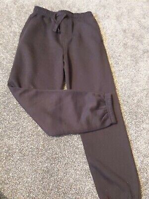 Black Tracksuit Bottoms / Jogging Pants / Joggers. Age 9-10 Years.