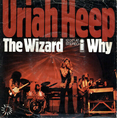 Uriah Heep / The Wizard / Why / Vinyl / Hardrock / Heavy / AOR / Island Records