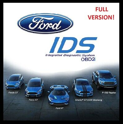 Ford IDS 115 DIAGNOSTIC SOFTWARE LATEST VERSION -- FULL VERSION ✔️