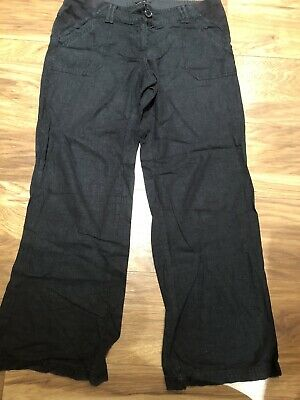 Next Maternity Trousers Black Size 10R Used