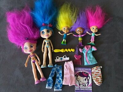 TROLLZ dolls with clothes and accessories - 2004
