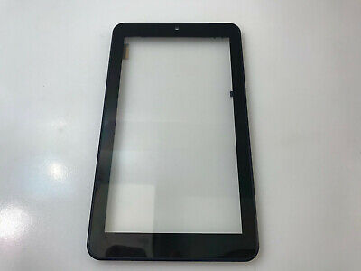 """Original digitizer touch panel with frame for ONN 100005206 Tablet 7"""" Blue"""