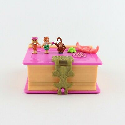 POLLY POCKET 1995 Glitter Island *COMPLETE*
